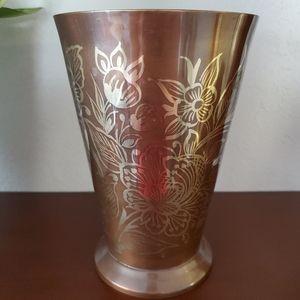 Anthropologie Accents - Anthropologie brass vase
